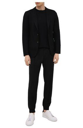 Мужской шерстяной пиджак ELEVENTY черного цвета, арт. D70GIAC08 JAC24018 | Фото 2