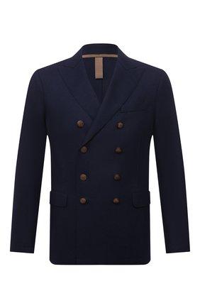 Мужской шерстяной пиджак ELEVENTY темно-синего цвета, арт. D70GIAD06 JAC24018 | Фото 1
