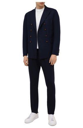 Мужской шерстяной пиджак ELEVENTY темно-синего цвета, арт. D70GIAD06 JAC24018 | Фото 2