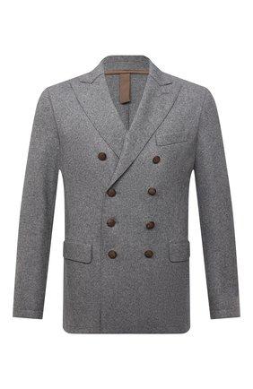 Мужской шерстяной пиджак ELEVENTY темно-серого цвета, арт. D70GIAD06 JAC24018 | Фото 1