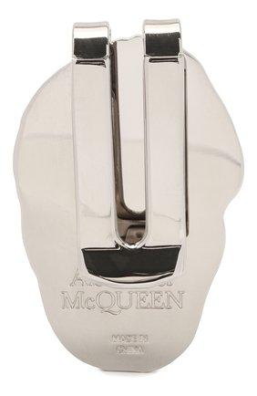 Мужской зажим для денег ALEXANDER MCQUEEN черно-белого цвета, арт. 554705/J163N | Фото 2