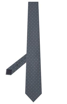 Мужской шелковый галстук TOM FORD синего цвета, арт. 2TF09/XTF | Фото 2 (Материал: Текстиль, Шелк; Принт: С принтом)
