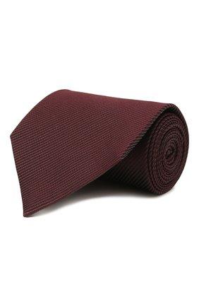 Мужской шелковый галстук TOM FORD бордового цвета, арт. 2TF05/XTF   Фото 1