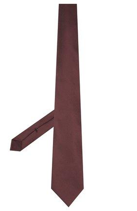 Мужской шелковый галстук TOM FORD бордового цвета, арт. 2TF05/XTF   Фото 2