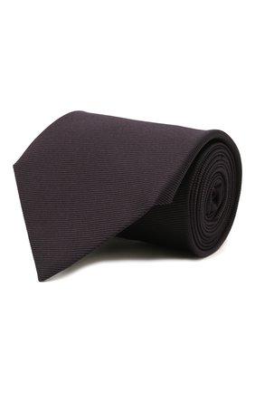 Мужской шелковый галстук TOM FORD темно-фиолетового цвета, арт. 2TF04/XTF   Фото 1