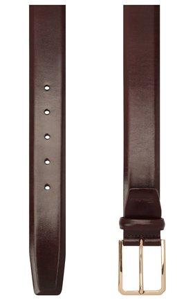 Мужской кожаный ремень SANTONI бордового цвета, арт. CM35VS003B91HVVDQ67 | Фото 2