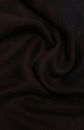 Мужской кашемировый шарф LORO PIANA темно-коричневого цвета, арт. FAL8203 | Фото 2