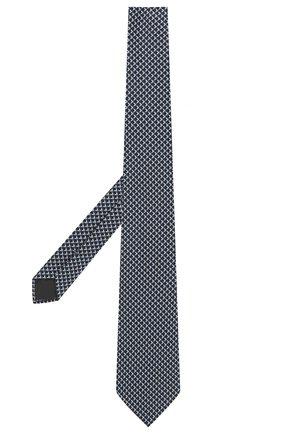 Мужской шелковый галстук ERMENEGILDO ZEGNA синего цвета, арт. Z2D82T/1UM   Фото 2