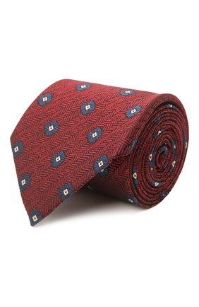 Мужской шелковый галстук ERMENEGILDO ZEGNA красного цвета, арт. Z2D22T/1UM | Фото 1