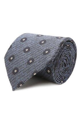 Мужской шелковый галстук ERMENEGILDO ZEGNA голубого цвета, арт. Z2D22T/1UM   Фото 1