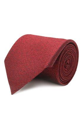 Мужской шелковый галстук ERMENEGILDO ZEGNA красного цвета, арт. Z2D20T/1UM | Фото 1