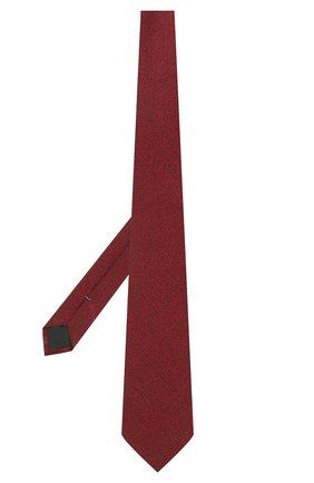 Мужской шелковый галстук ERMENEGILDO ZEGNA красного цвета, арт. Z2D20T/1UM | Фото 2