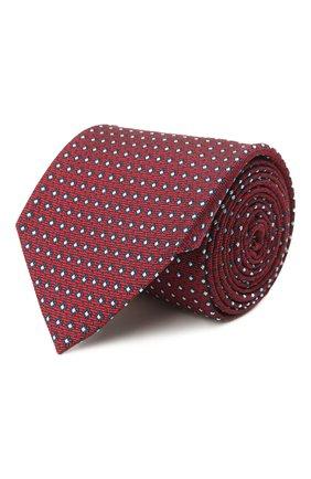 Мужской шелковый галстук ERMENEGILDO ZEGNA бордового цвета, арт. Z2D03T/1UM   Фото 1