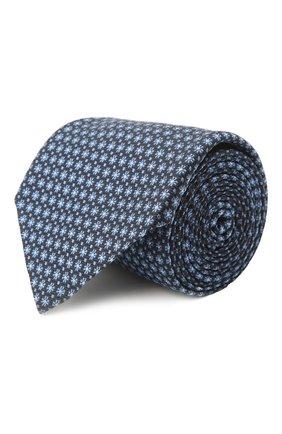 Мужской шелковый галстук ERMENEGILDO ZEGNA голубого цвета, арт. Z2D03T/1UM | Фото 1