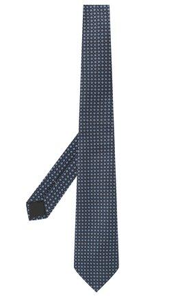 Мужской шелковый галстук ERMENEGILDO ZEGNA голубого цвета, арт. Z2D03T/1UM | Фото 2