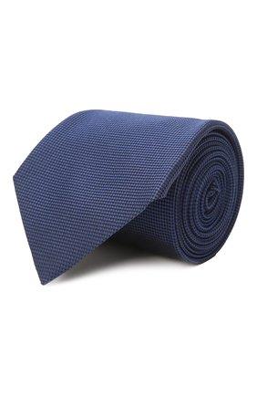 Мужской шелковый галстук ERMENEGILDO ZEGNA синего цвета, арт. Z2D00T/1UM | Фото 1