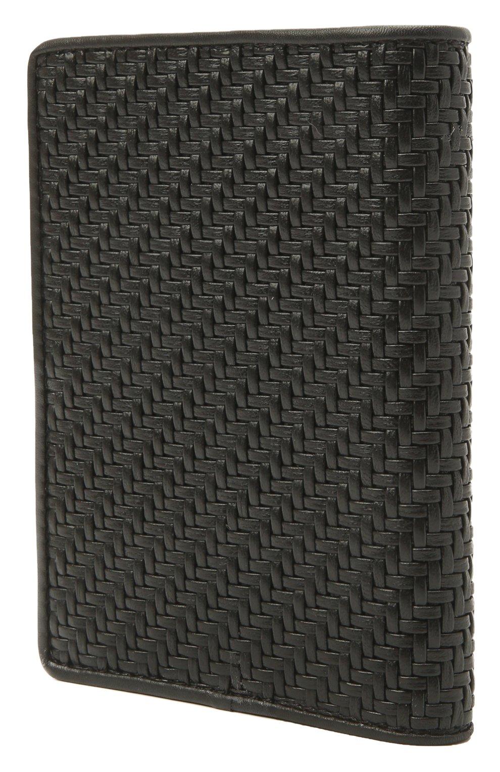 Мужской кожаная обложка для паспорта ERMENEGILDO ZEGNA черного цвета, арт. E1448P-LHPTA | Фото 2 (Кросс-КТ: обложки и футляры)