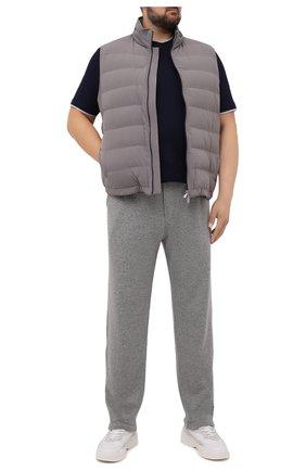 Мужской пуховый жилет BRUNELLO CUCINELLI серого цвета, арт. ML4911714W | Фото 2