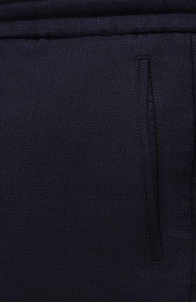 Мужские шерстяные брюки MARCO PESCAROLO темно-синего цвета, арт. CHIAIAM/ZIP+SFILA/4414 | Фото 5 (Big sizes: Big Sizes; Материал внешний: Шерсть; Длина (брюки, джинсы): Стандартные; Случай: Повседневный; Стили: Кэжуэл)