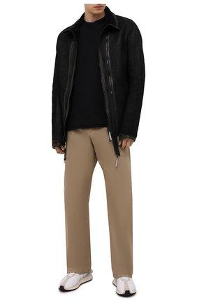 Мужская дубленка ISAAC SELLAM черного цвета, арт. LES DEUX-STRAK H22   Фото 2