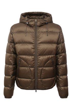 Мужская пуховая куртка RALPH LAUREN коричневого цвета, арт. 790774258 | Фото 1 (Кросс-КТ: Куртка; Мужское Кросс-КТ: пуховик-короткий; Рукава: Длинные; Материал внешний: Синтетический материал; Материал подклада: Синтетический материал; Длина (верхняя одежда): Короткие; Материал утеплителя: Пух и перо; Стили: Кэжуэл)