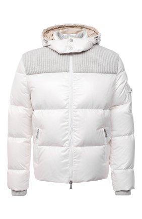 Мужская пуховая куртка ELEVENTY белого цвета, арт. D70GBTD03 NYL0D001 | Фото 1