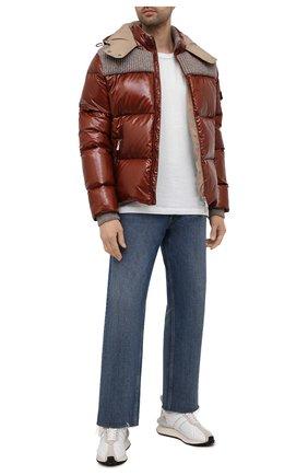 Мужская пуховая куртка ELEVENTY коричневого цвета, арт. D70GBTD03 NYL0D001 | Фото 2