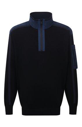 Мужской шерстяной свитер PAUL&SHARK синего цвета, арт. 11311155/FLV/3XL-6XL | Фото 1