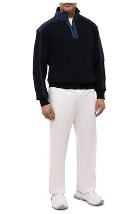 Мужской шерстяной свитер PAUL&SHARK синего цвета, арт. 11311155/FLV/3XL-6XL | Фото 2