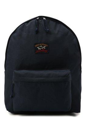 Мужской текстильный рюкзак PAUL&SHARK темно-синего цвета, арт. 11318104/9< | Фото 1