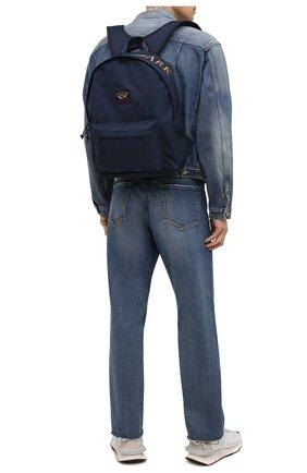 Мужской текстильный рюкзак PAUL&SHARK темно-синего цвета, арт. 11318104/9< | Фото 2