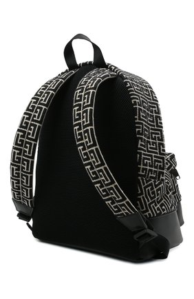 Мужской текстильный рюкзак BALMAIN черного цвета, арт. WM1GE150/TJMY | Фото 3