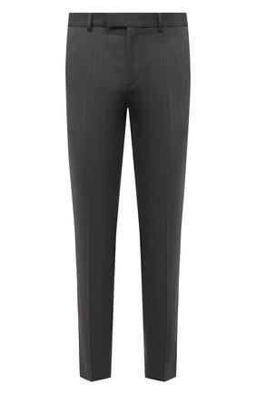 Мужские брюки HUGO темно-серого цвета, арт. 50454311 | Фото 1
