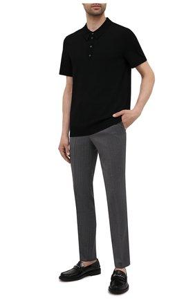 Мужские брюки HUGO темно-серого цвета, арт. 50454311 | Фото 2