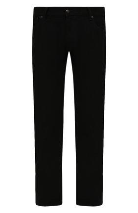 Мужские джинсы RALPH LAUREN черного цвета, арт. 790563748 | Фото 1 (Материал внешний: Хлопок; Стили: Классический, Кэжуэл; Силуэт М (брюки): Прямые; Кросс-КТ: Деним; Длина (брюки, джинсы): Стандартные)