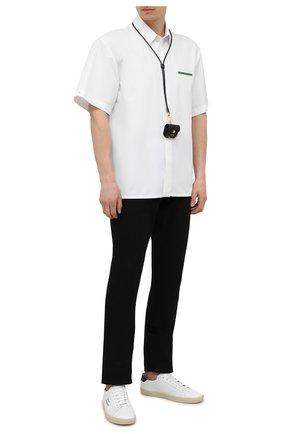 Мужские джинсы RALPH LAUREN черного цвета, арт. 790563748 | Фото 2 (Материал внешний: Хлопок; Стили: Классический, Кэжуэл; Силуэт М (брюки): Прямые; Кросс-КТ: Деним; Длина (брюки, джинсы): Стандартные)
