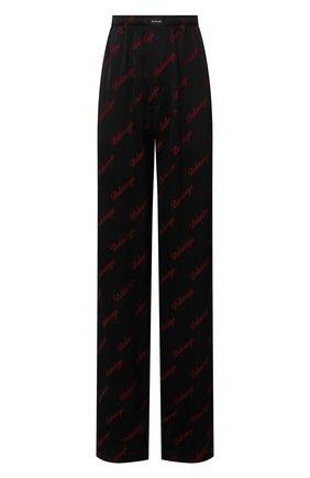 Женские брюки из вискозы BALENCIAGA черного цвета, арт. 659026/TK052 | Фото 1