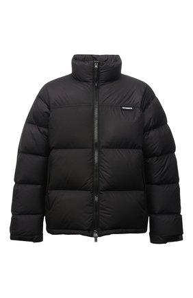Мужская пуховая куртка VETEMENTS черного цвета, арт. UA52JA550B 1324/M | Фото 1