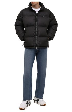 Мужская пуховая куртка VETEMENTS черного цвета, арт. UA52JA550B 1324/M | Фото 2