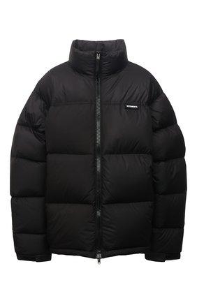 Женская пуховая куртка VETEMENTS черного цвета, арт. UA52JA550B 1324/W   Фото 1