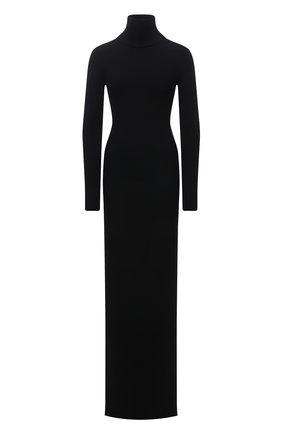 Женское шерстяное платье VETEMENTS черного цвета, арт. WA52KN860B 2901/BLACK   Фото 1