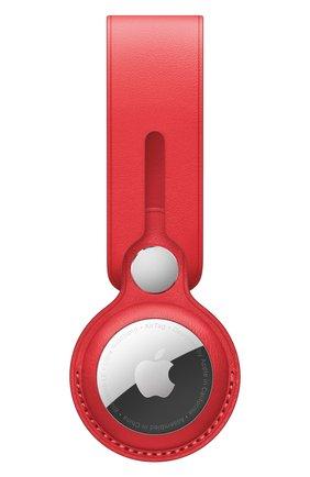 Кожаная подвеска для airtag APPLE  (product)red цвета, арт. MK0V3ZM/A   Фото 1