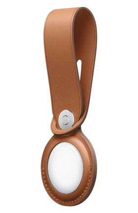 Кожаная подвеска для airtag APPLE  коричневого цвета, арт. MX4A2ZM/A | Фото 2