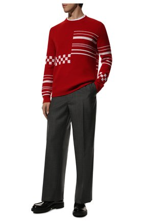 Мужские кожаные лоферы chocolate PRADA черного цвета, арт. 2DE127-055-F0002 | Фото 2