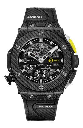 Мужские часы unico golf black carbon HUBLOT бесцветного цвета, арт. 416.YT.1120.VR | Фото 1