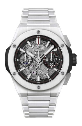Мужские часы integral white ceramic HUBLOT бесцветного цвета, арт. 451.HX.1123.HX | Фото 1