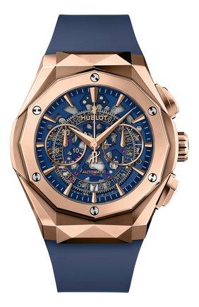 Мужские часы aerofusion chronograph orlinski king gold blue HUBLOT бесцветного цвета, арт. 525.OX.5180.RX.ORL21 | Фото 1