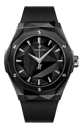 Мужские часы classic fusion orlinski black magic HUBLOT бесцветного цвета, арт. 550.CS.1800.RX.ORL21 | Фото 1