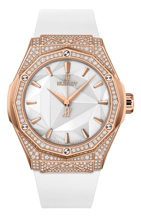 Женские часы orlinski king gold white pavé HUBLOT бесцветного цвета, арт. 550.OS.2200.RW.1604.ORL20 | Фото 1
