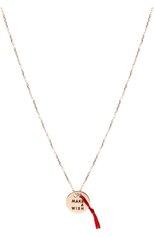 Женские колье VANRYCKE бесцветного цвета, арт. CM2R0-01 | Фото 1 (Драгоценные камни: Без драгоценных камней; Материал сплава: Розовое золото)